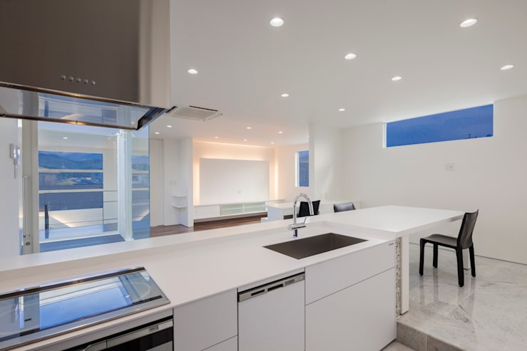 株式会社細川建築デザイン의  주방