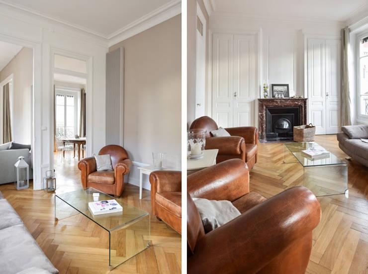 Extraordinaire Rénovation d'un appartement haussmannien à Lyon 06 by Marion Lanoë @XD_57