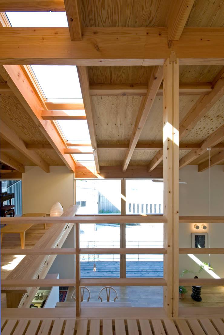 トップライト: 久保田英之建築研究所が手掛けた窓です。,モダン