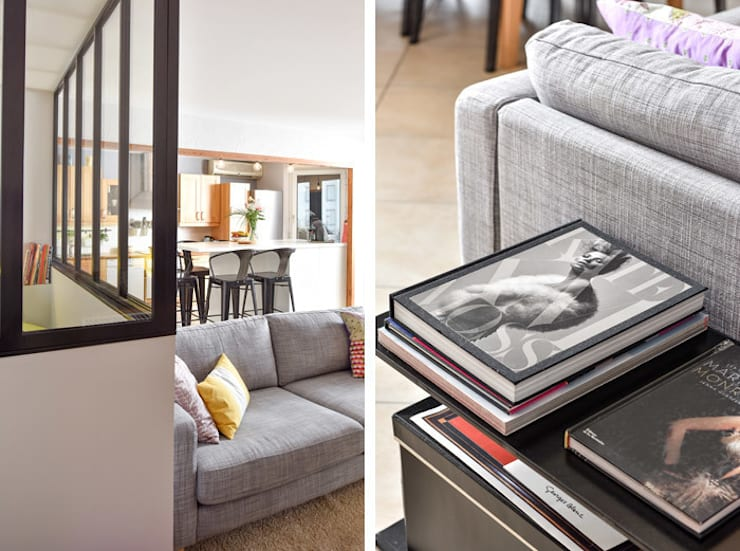 Création d\'une chambre dans une pièce à vivre d\'un ...
