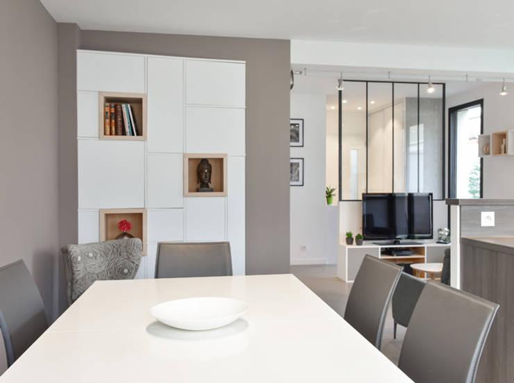 modern Dining room by Marion Lanoë Architecte d'Intérieur