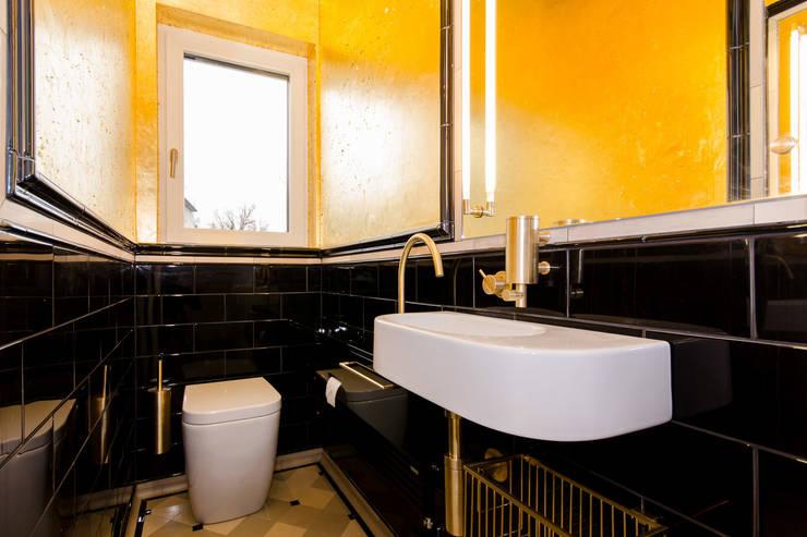 Golden Lavatory: ausgefallene Badezimmer von vivante
