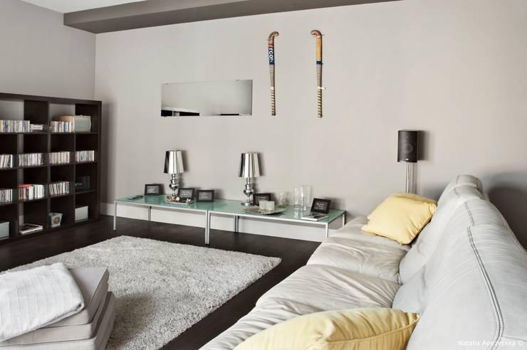 VIVIENDA UNIFAMILIAR 100% FENG SHUI: Sala multimedia de estilo  de AREA FENG SHUI │Arquitectura Interiorismo y Decoración Feng Shui