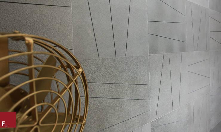 Apartamento M_M: Salas de estar modernas por Fadel Arquitetura
