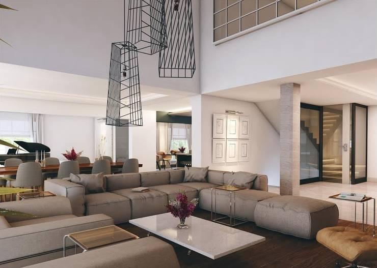 Living room by Nuevo Tasarım