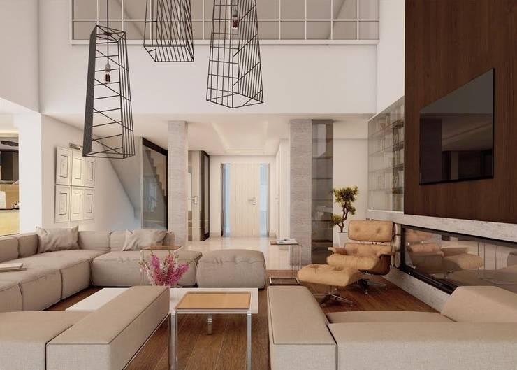 Nuevo Tasarım – Ankarada bir ev:  tarz Koridor ve Hol