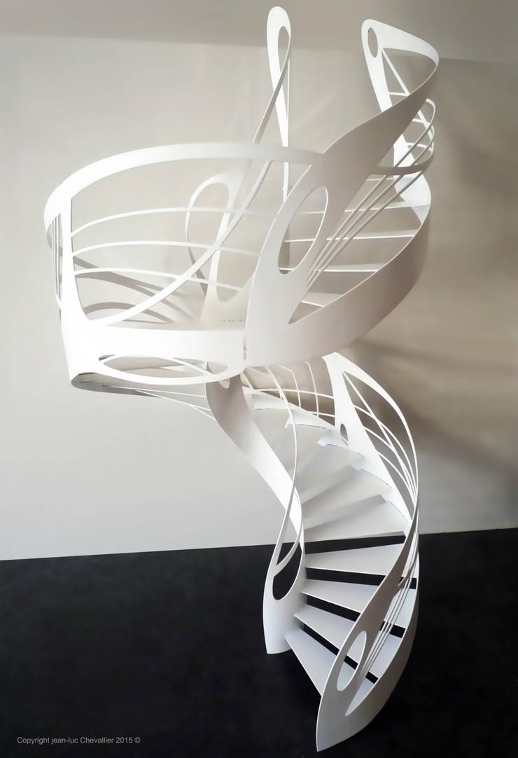 Escalier Design Helicoidal Colimacon By La Stylique Homify