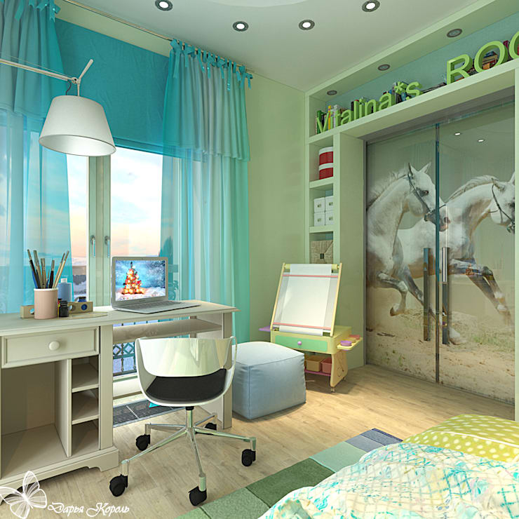 Nursery/kid's room by Your royal design