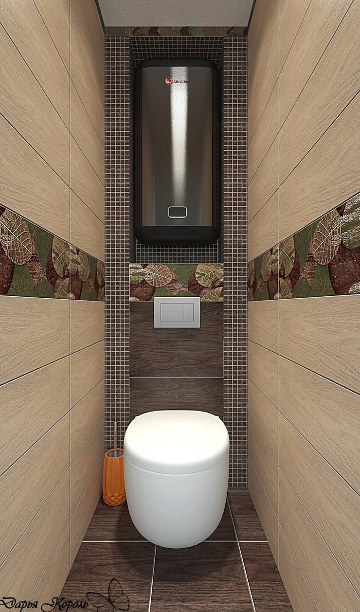 Guest bedroom: Ванные комнаты в . Автор – Your royal design