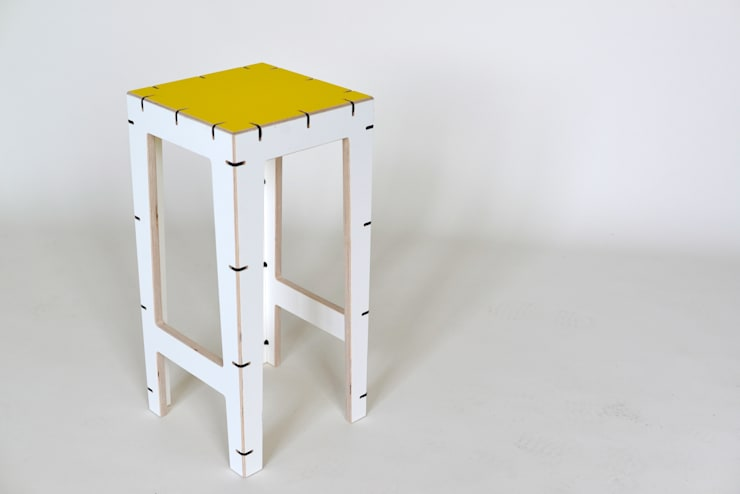 CABLE bar stool:  Dining room by AH designs