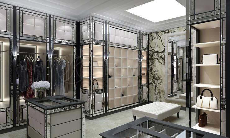 Wheatley Residence, NY, USA: Гардеробные в . Автор – NEUMARK