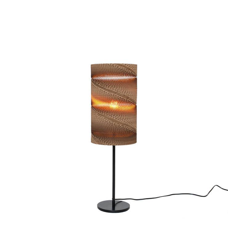 Spring table lamp: Прихожая, коридор и лестницы в . Автор – wishnya
