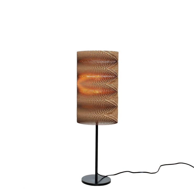 ZigZag table lamp: Прихожая, коридор и лестницы в . Автор – wishnya