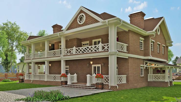Casas de estilo clásico por Вадим Бычков