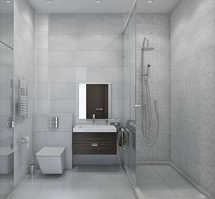 ЖК <q>Вертикаль</q>: Ванные комнаты в . Автор – Вадим Бычков