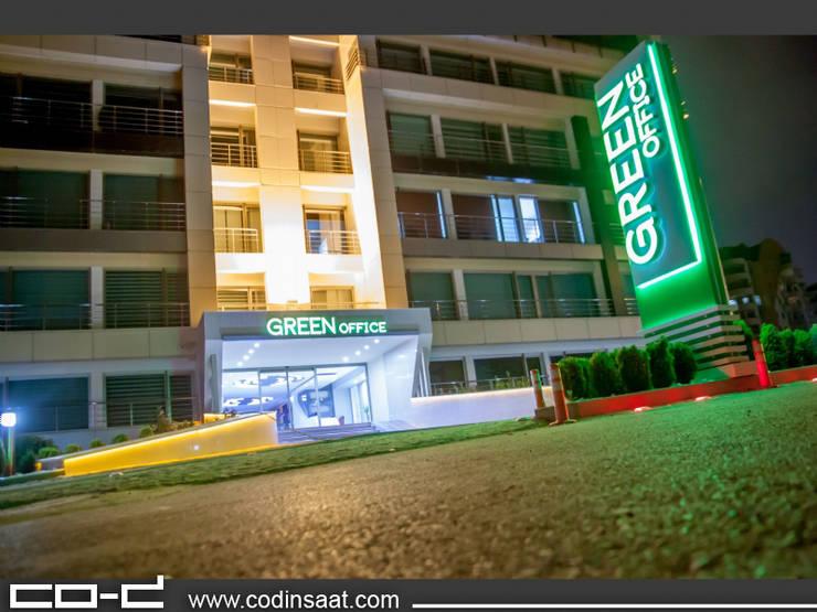 COD Mimarlık Ltd. – Green Offıce - Çukurambar:  tarz Ofis Alanları