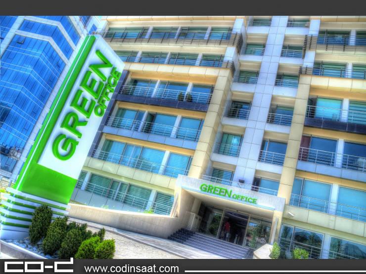 COD Mimarlık Ltd. – Green Offıce – Çukurambar:  tarz Ofis Alanları