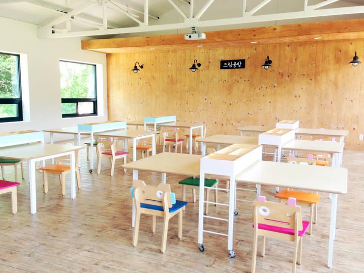 새싹꿈터 Saessac Ggumter: studio azellier의  회의실