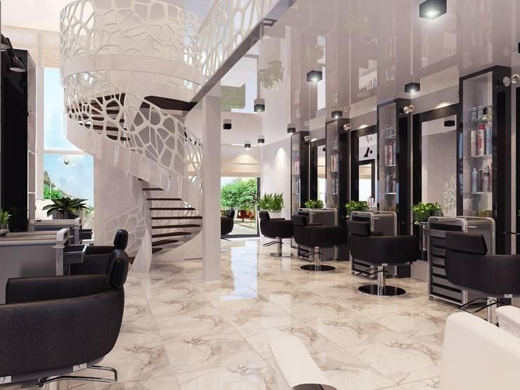 Салон красоты в Алматы: Коридор и прихожая в . Автор – Design Projects