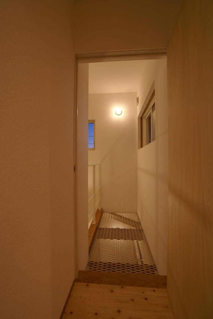 Ⅰ邸: 伊達剛建築設計事務所が手掛けた寝室です。