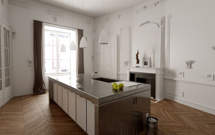 modern Kitchen by New Home Agency