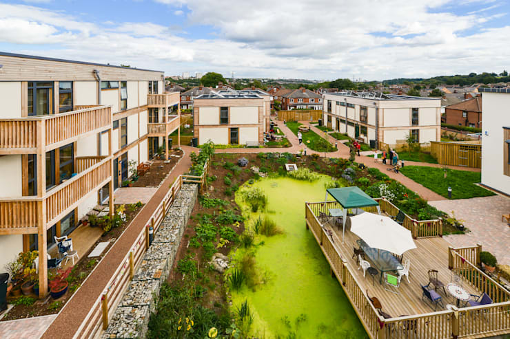 LILAC Co-Housing, Leeds:  Houses by ModCell