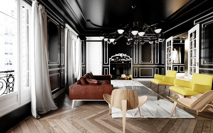 Living room by New Home Agency