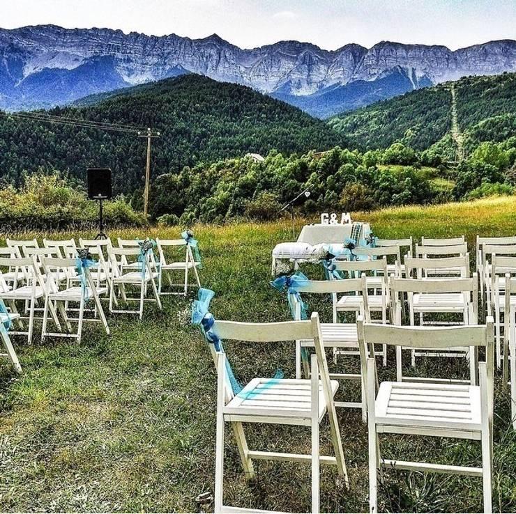 Celebración campestre: Jardín de estilo  de GARCIA HERMANOS