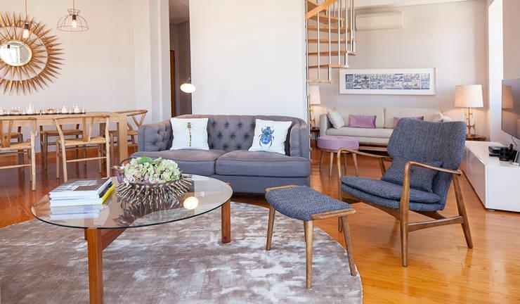 Salones de estilo  de Home Staging Factory
