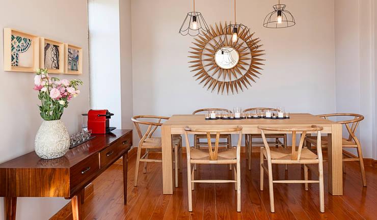 dining room: Salas de jantar  por Home Staging Factory