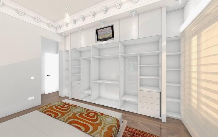 Habitación Principal : Armario: Dormitorios de estilo  de CADOT