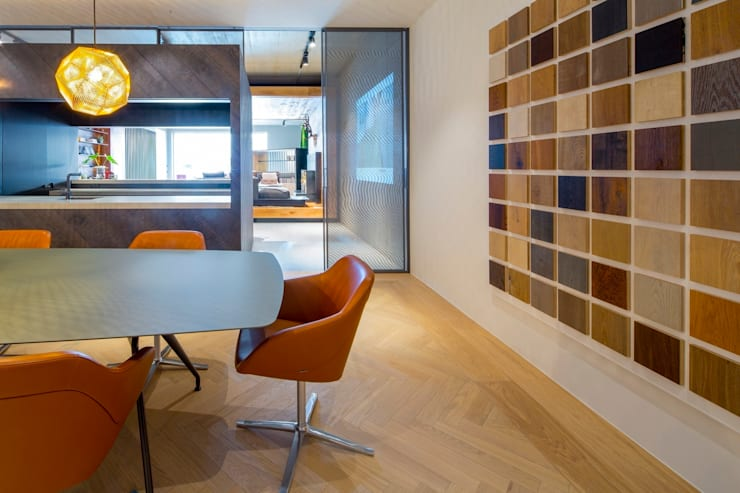 Hakwood Studio commercial (conference room):  Commercial Spaces by Hakwood   Great Flooring Stories