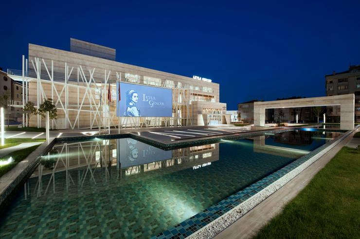 Cemal Mutlu Architects – Leyla Gencer Opera ve Sanat Merkezi:  tarz Etkinlik merkezleri