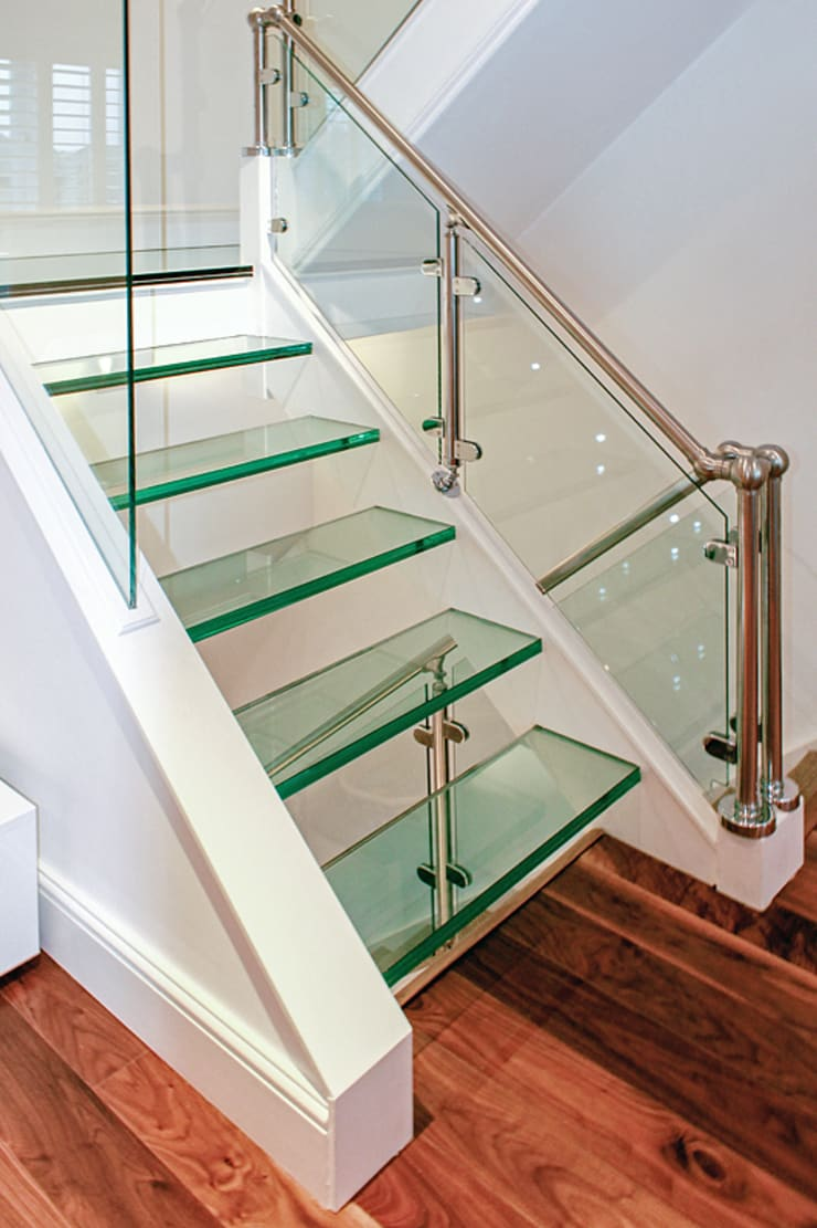 Interior House Remodelling, London E14:  Corridor & hallway by Nic  Antony Architects Ltd