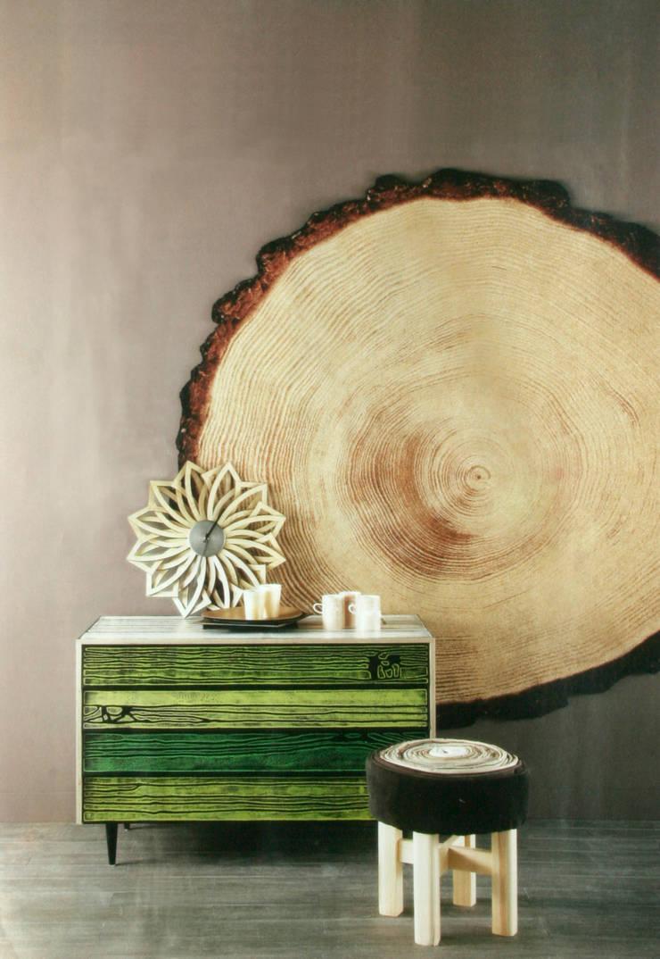 Woody Wood kleed: modern  door YLdesign, Modern