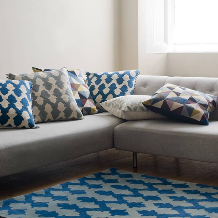 Lattice Rug:  Living room by Niki Jones