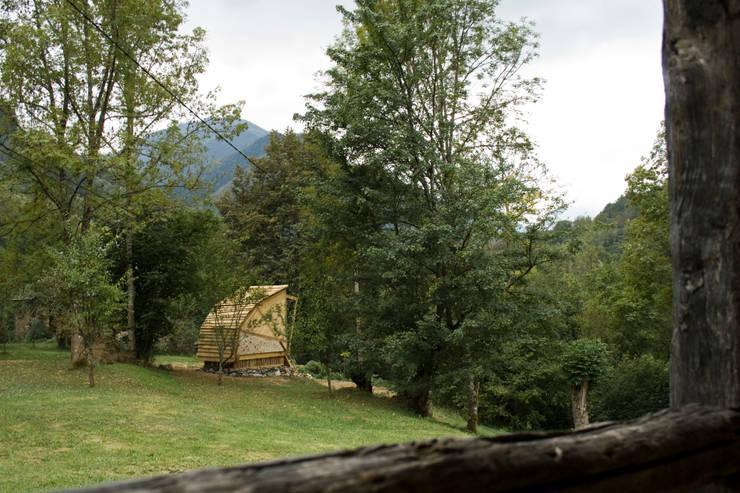 Summerhouse:  Garden by Mill & Jones