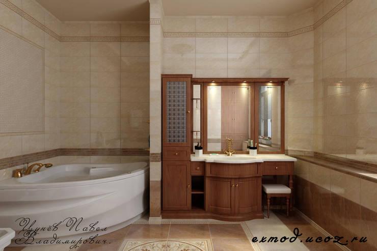 Bathroom by Дизайн студия 'Exmod' Павел Цунев