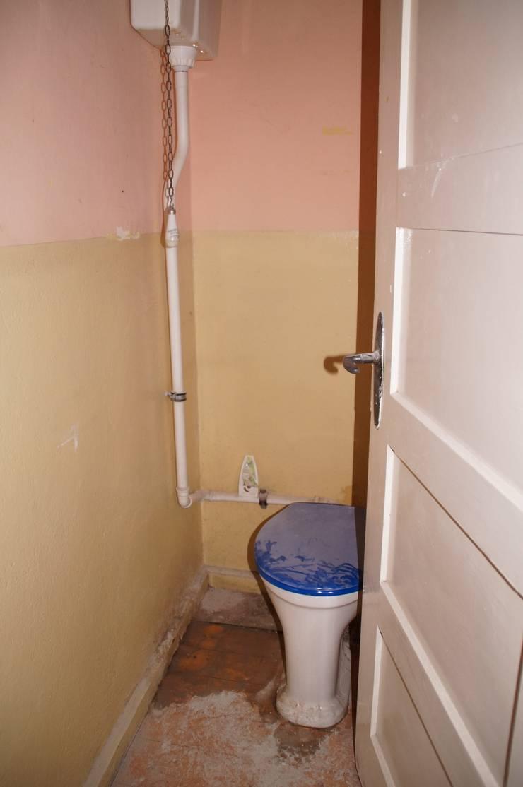 Zdjęcie łazienki przed metamorfozą : styl , w kategorii  zaprojektowany przez Ewa Weber - Pracownia Projektowa