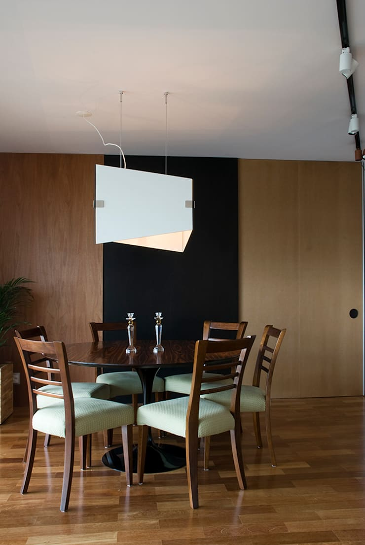 Interior | Apartamento – II: Salas de jantar  por ARQdonini Arquitetos Associados