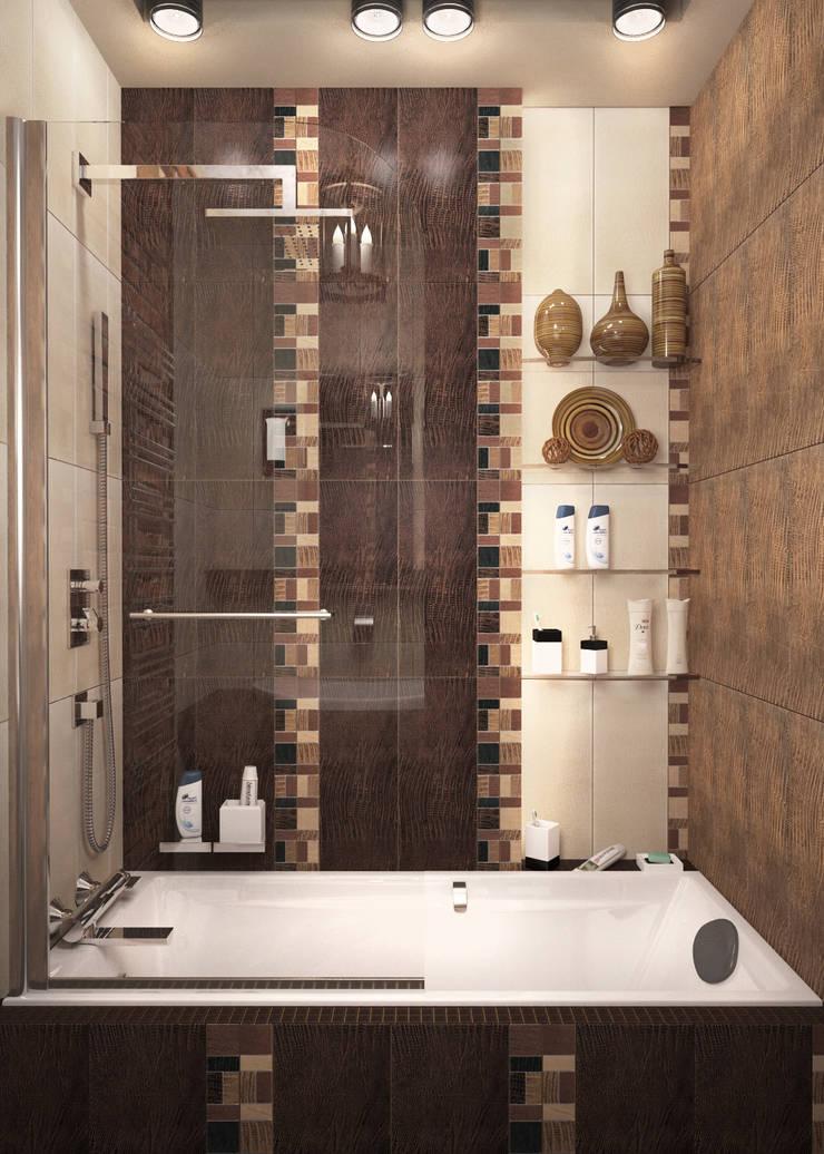 Стандартная ванная в  стиле лофт – новостройки Москвы: Ванные комнаты в . Автор – Myroslav Levsky