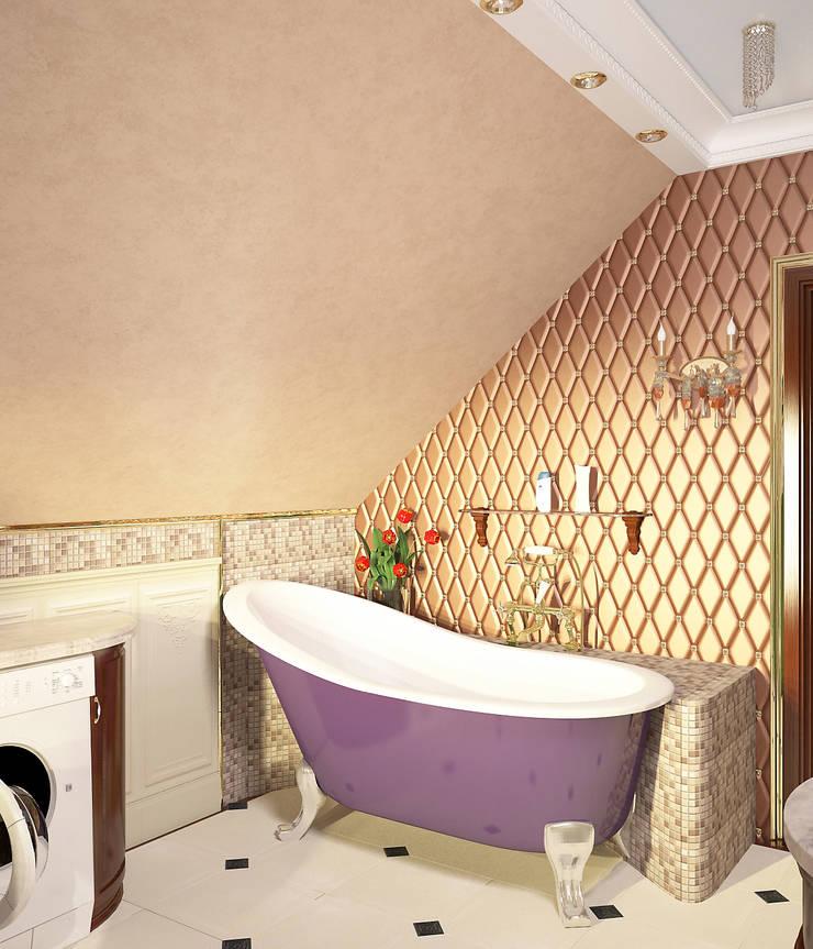 Ванная в классическом стиле: Ванные комнаты в . Автор – Myroslav Levsky