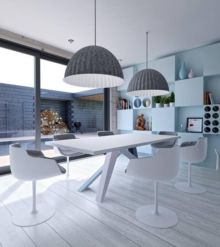 Интерьер дома AUS: Столовые комнаты в . Автор – INT2architecture