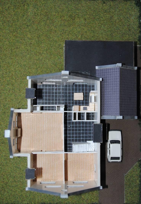maquette begane grond:   door halma-architecten