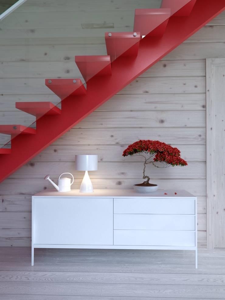 Интерьер дома AUS: Коридор и прихожая в . Автор – INT2architecture