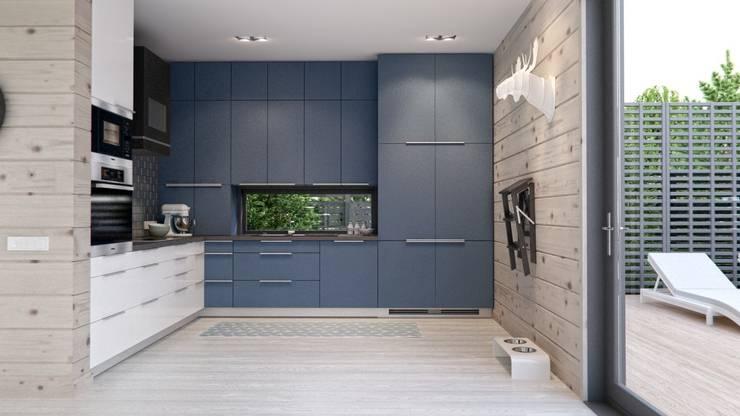 Интерьер дома AUS: Кухни в . Автор – INT2architecture