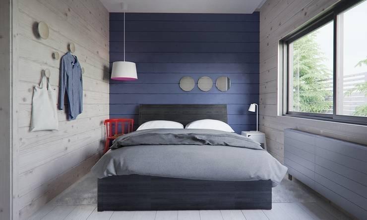 Интерьер дома AUS: Спальни в . Автор – INT2architecture