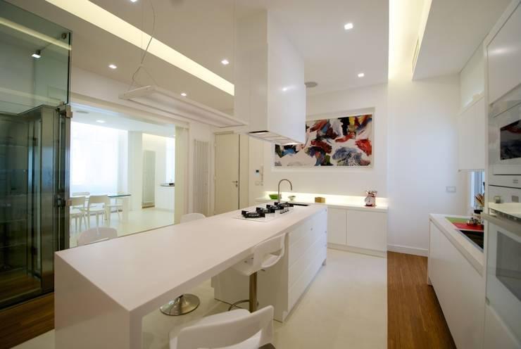 Projekty,  Kuchnia zaprojektowane przez CalìArchitetti