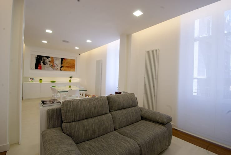 غرفة المعيشة تنفيذ CalìArchitetti