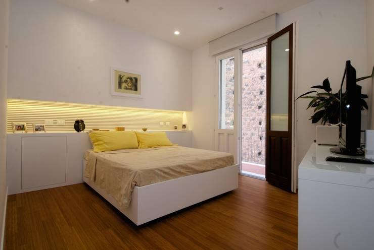 غرفة نوم تنفيذ CalìArchitetti